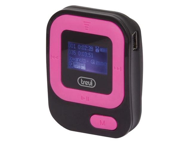 Trevi MPV 1705 SR MP3 Nero, Rosa
