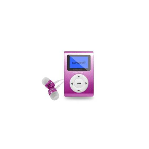 Sunstech DEDALOIII Lettore MP3 Rosa 4 GB