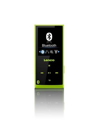 Lenco Xemio 760 BT 8GB MP4 8GB Nero, Verde