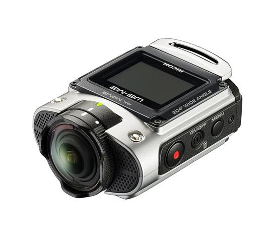 Ricoh WG-M2 RICOH WG-M2 action Camera per Riprese Video 4K, Impermeabile Fino a 20m Senza Scafandro, Antiurto, Wi-Fi, Argento