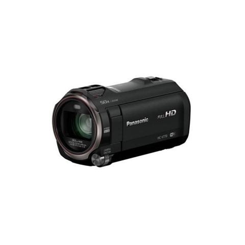Panasonic HC-V770EG-K Videocamera Full HD, Wireless Twin Camera, Grandangolo 29.5 mm, Tecnologia Video HDR, Nero