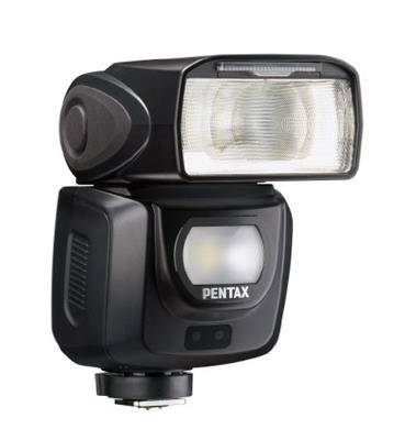 Pentax AF360 FGZ IU Flash Automatico, Modo P-TTL, Numero Guida 36, 28 Guarnizioni a Tenuta di Agenti Atmosferici, Nero