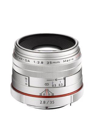 Pentax Obiettivo HD DA, 35 mm, Macro F/2.8, Edizione Limitata, Argento