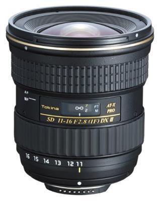 Tokina AT-X 116 PRO DX II - camera lenses (Wide zoom, 13/11, 2.8 - 22, 11 - 16 mm, 1:11.6, Nikon)