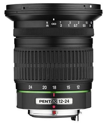 Pentax Obiettivo SMC-DA, 12-24 mm, F/4 ED AL IF, Nero