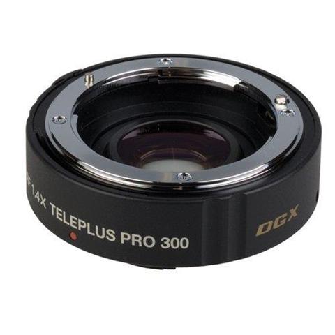 Kenko Teleplus Pro 300 AF 1.4X DGX Teleconverter per Canon AF/EF, Nero