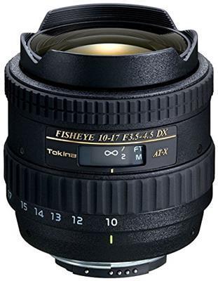 Tokina ATX 3,5-4,5/10-17 DX AF Obiettivo per Nikon