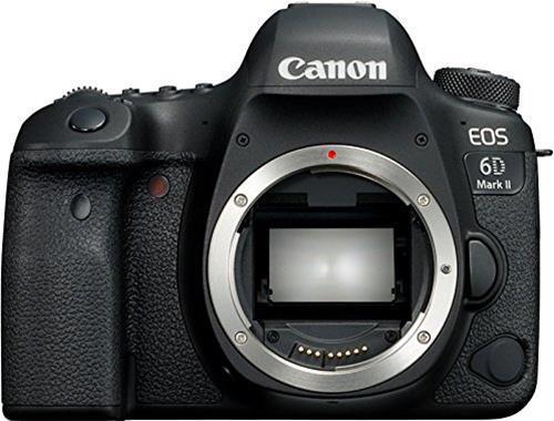 Canon EOS 6D Mark II Body Fotocamera Digitale Reflex, Versione Canon Pass Italia, Nero