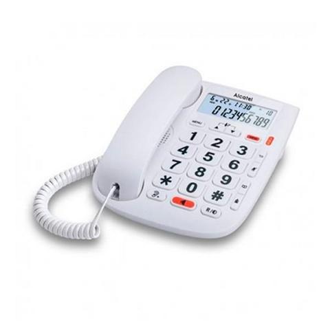 Alcatel TMAX 20 Telefono analogico/DECT Bianco Identificatore di chiamata