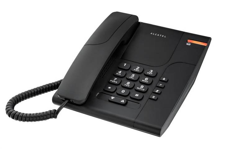 Alcatel Temporis 180 Telefono analogico/DECT Nero