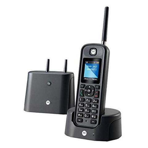 Motorola Telefono Senza Fili Motorola E52000X60T1GEF03 Nero