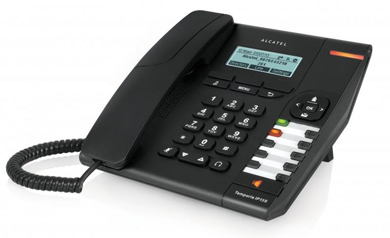 Alcatel Temporis IP150 telefono IP Nero Cornetta cablata