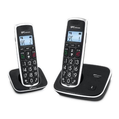 7609N Telf. DECT DUO Tast.Grd. AG20 ID LCD ECO
