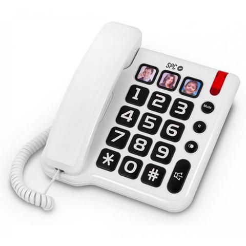 SPC 3294B Telefono analogico Bianco telefono