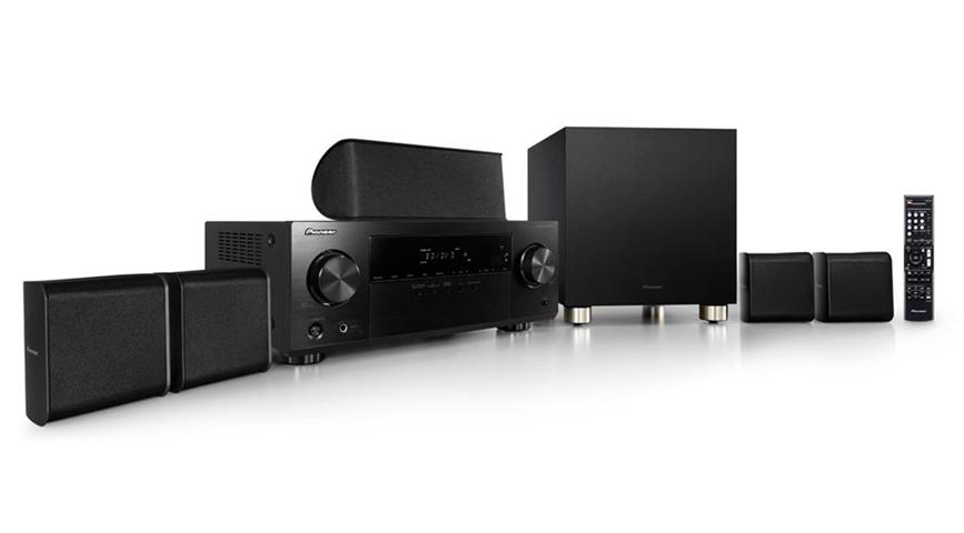Pioneer HTP-075 sistema home cinema Compatibilità 3D 5.1 canali Nero