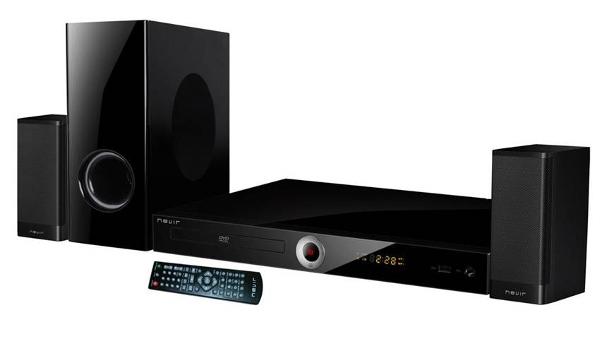 Nevir NVR-711DCDU 2.1canali 25W Nero sistema home cinema