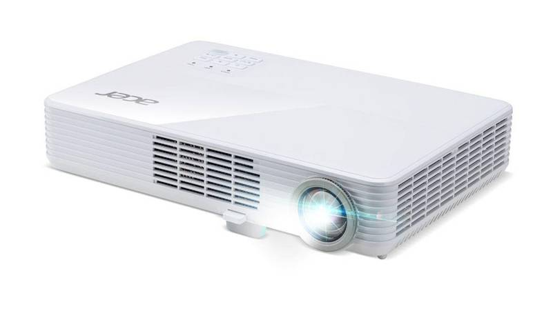 Acer PD1320Wi videoproiettore 2000 ANSI lumen DLP WXGA (1280x800) Ceiling-mounted projector Bianco