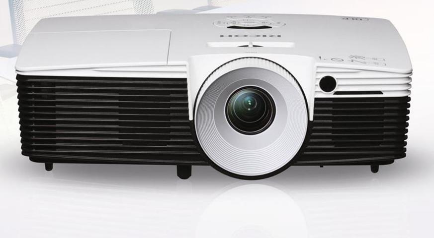 Ricoh PJ X5460 videoproiettore 4000 ANSI lumen DLP XGA (1024x768) Compatibilità 3D Proiettore desktop Nero, Bianco