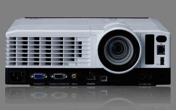Ricoh PJ X3351N videoproiettore 3500 ANSI lumen DLP XGA (1024x768) Proiettore desktop Nero, Bianco