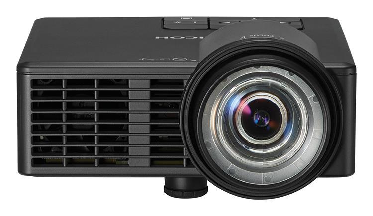 Ricoh PJ WXC1110 videoproiettore 600 ANSI lumen DLP WXGA (1280x800) Proiettore portatile Nero