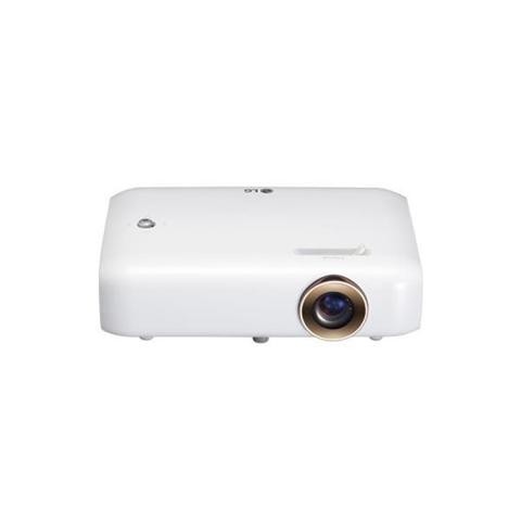 LG PH550G Desktop projector 550ANSI lumens DLP 720p (1280x720) 3D White data projector - data projectors (550 ANSI lumens, DLP, 720p (1280x720), 100000:1, 16:9, 635 - 2540 mm (25 - 100