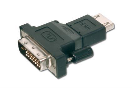 Adattatore HDMI 19 poli femmina / DVI-d (18+1) maschio