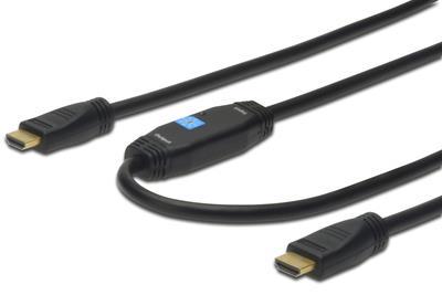 ASSMANN Electronic HDMI A /M 10.0m cavo HDMI 10 m HDMI tipo A (Standard) Nero