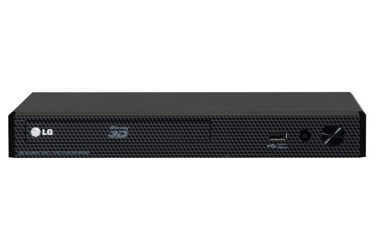 LG Lettore Blu-Ray 3D LG Bp450 Compatibile 3D 1 HDMI 1Usb