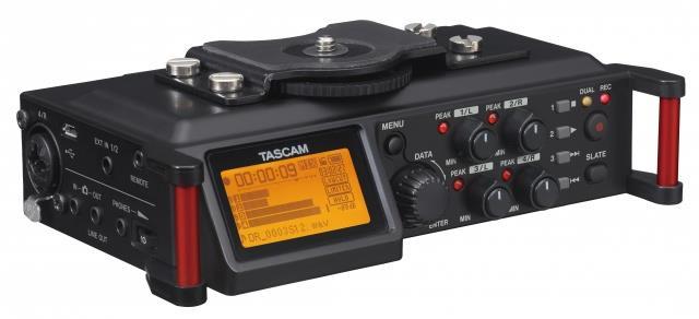 Tascam Radioregistratore Tascam Digitale A 4 Tracce Nero Dr70D