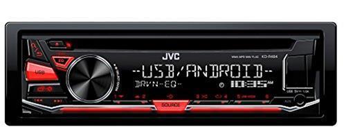 JVC KD-R484 Sintolettore con CD, Rosso