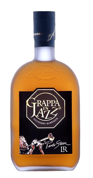 Distilleria Lucrezio R. Grappa in Jazz  -  Acquavite di vinacce affinata in barriques (bottiglia 70 cl)