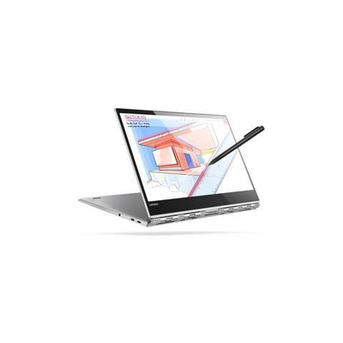 Lenovo Notebook 2 in 1 Yoga 920-13IKB Monitor 13.9'' UHD Touch Screen Intel Core i5-8250U Ram 8GB SSD 256 GB 1xUSB 3.0 1x USB 3.1 Windows 10 Home