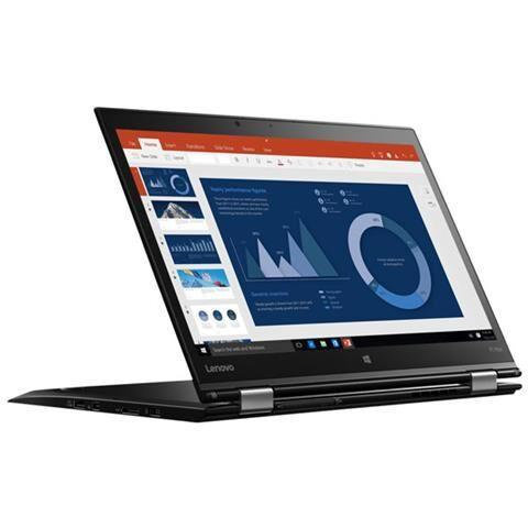 Lenovo Notebook 2 in 1 ThinkPad X1 Yoga Monitor 14'' Wide Quad HD Touch Screen Intel Core i5-8250U Quad Core Ram 8GB SSD 256GB 2xUSB 3.1 2xUSB 3.0 Windows 10 Pro