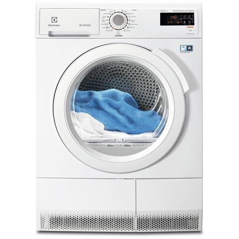 Electrolux Asciugatrice a Pompa di Calore EDH3985TDE Capacità 8 Kg Classe A+++ Colore Bianco