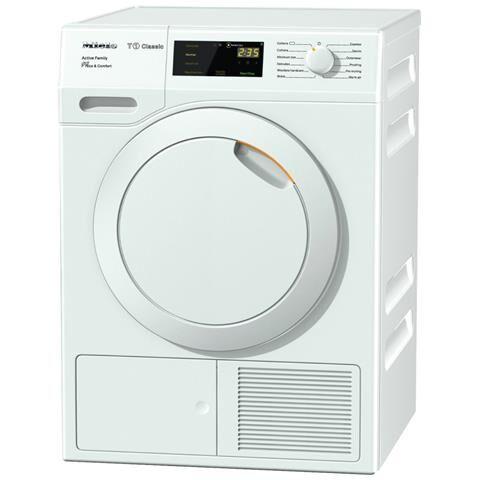 Miele Asciugatrice TDD230WP Active Family Classe A++ 8 Kg a Condensazione Colore Bianco