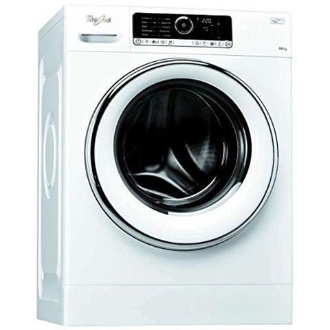 Whirlpool FSCR10427 Libera installazione Carica frontale 10kg 1400Giri / min A+++-20% Bianco lavatrice