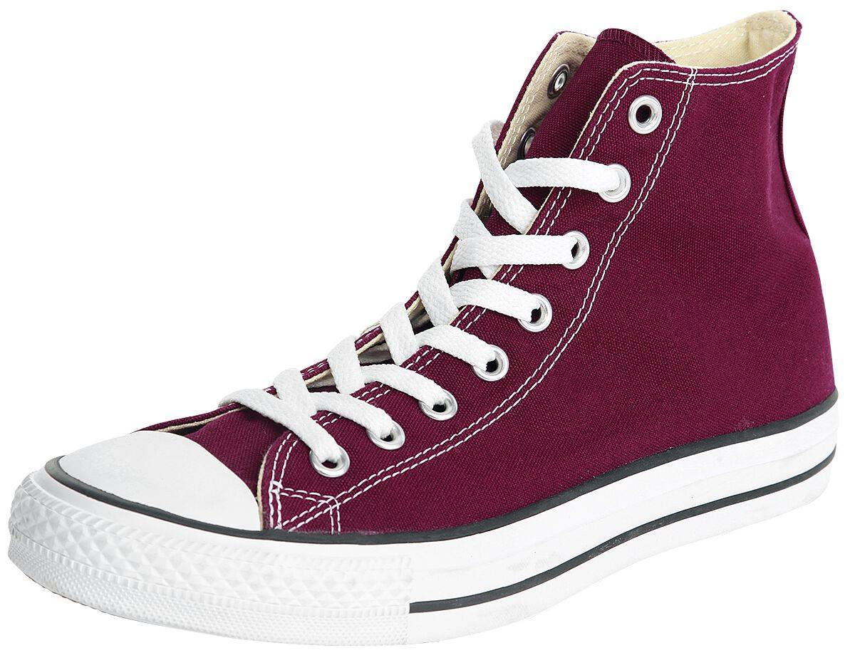 M9613C maroon Converse Chuck Taylor All Star High Scarpe sportive bordeaux