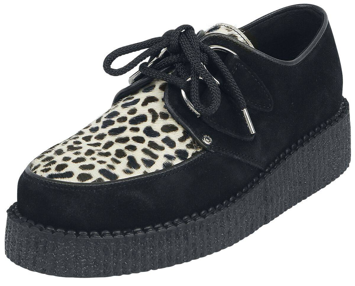 SC-410-Z4.Z58 Steelground Shoes Jungle Scarpe nero/leopardato