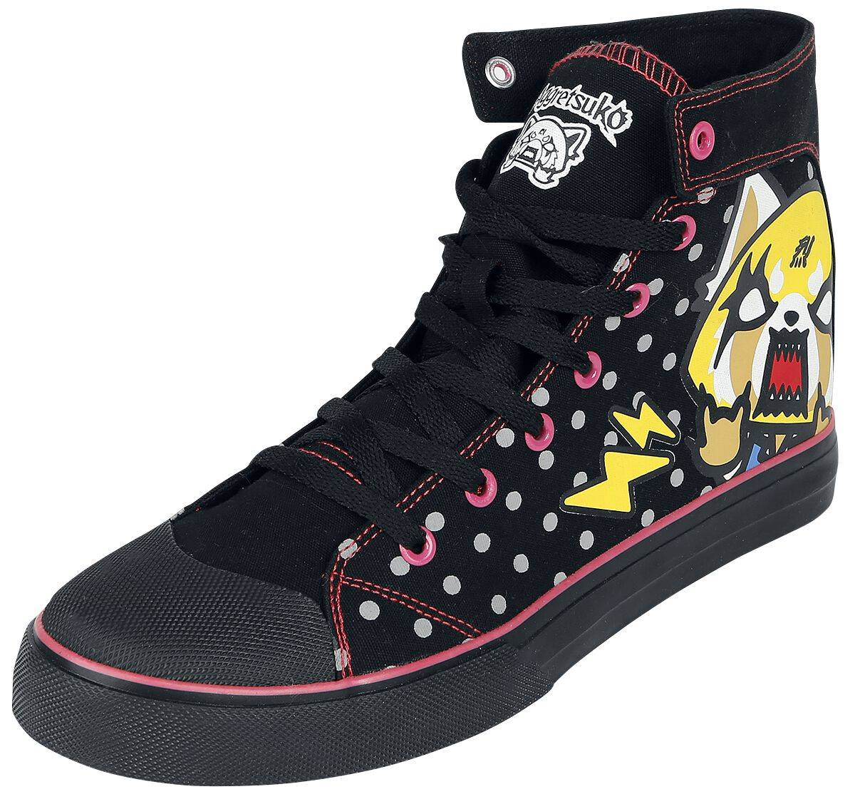 M365682 Aggretsuko Day Night Scarpe sportive nero