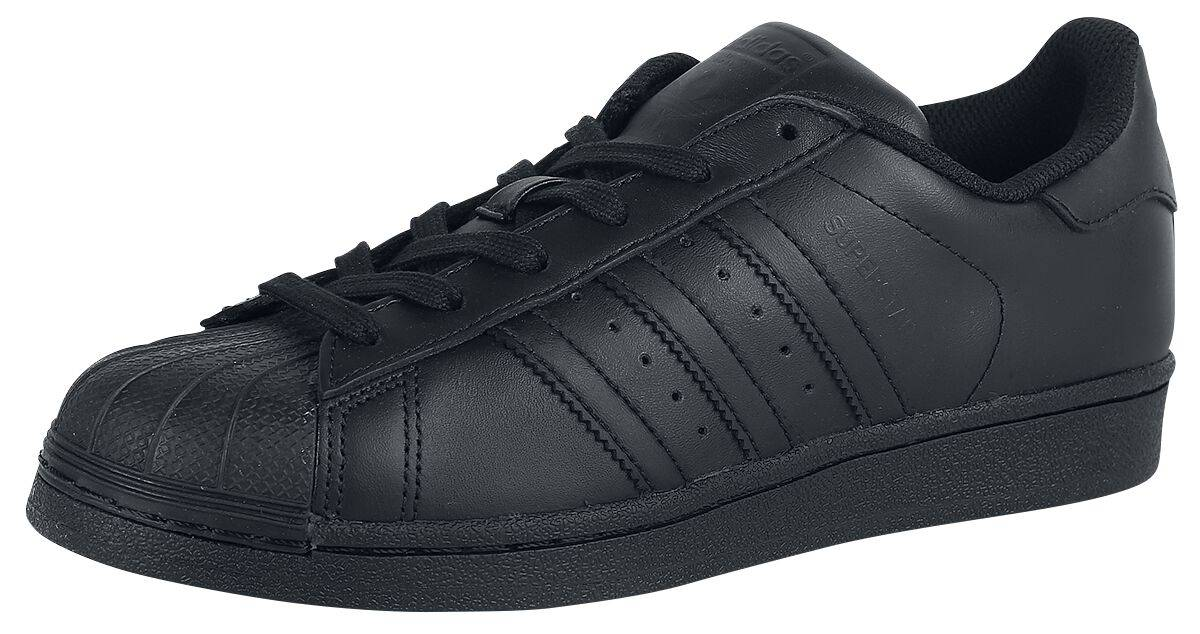 AF5666 7,5 Adidas Superstar Foundation Scarpe sportive nero/nero