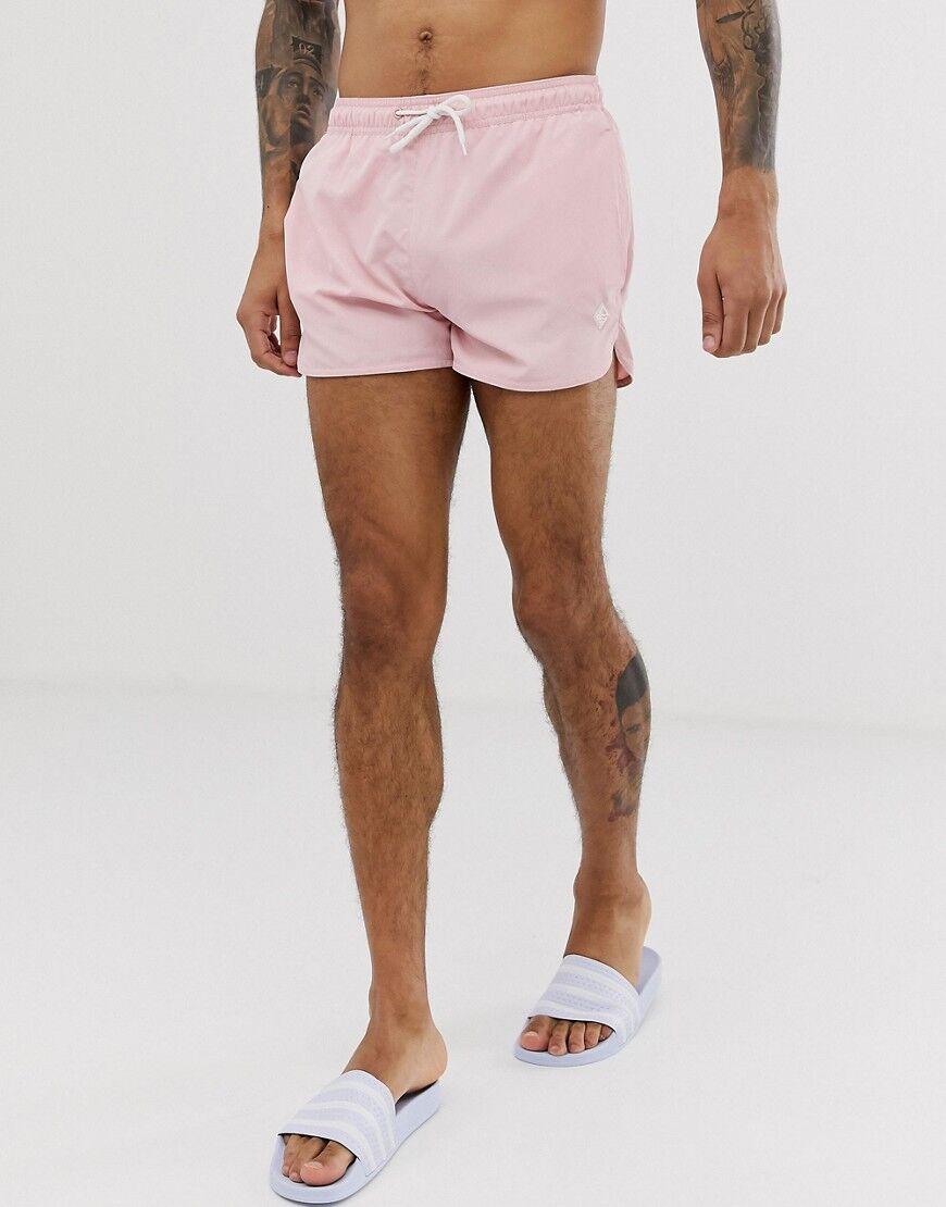 Bershka Pantaloncini da bagno rosaRosa