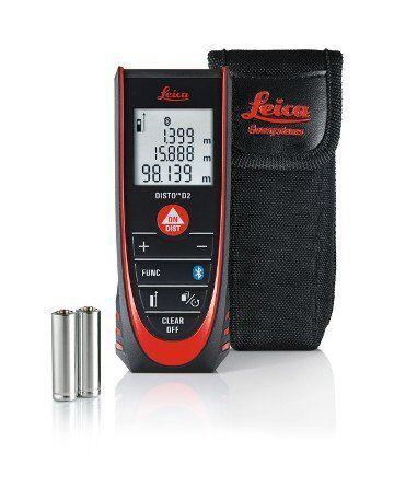 Leica Distanziometro Laser Leica DISTO D2 NEW CON BLUETOOTH (ISO 16331-1)