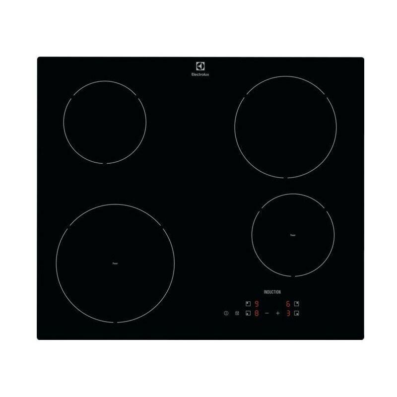 Electrolux EIR60420CK Piano Cottura a Induzione in Vetroceramica 4 Zone 60 cm Nero
