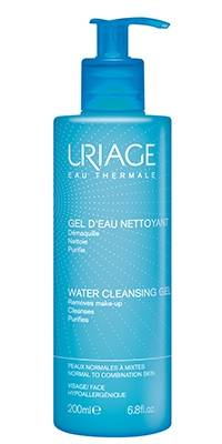 uriage laboratoires dermatolog gel detergente all'acqua 200 ml