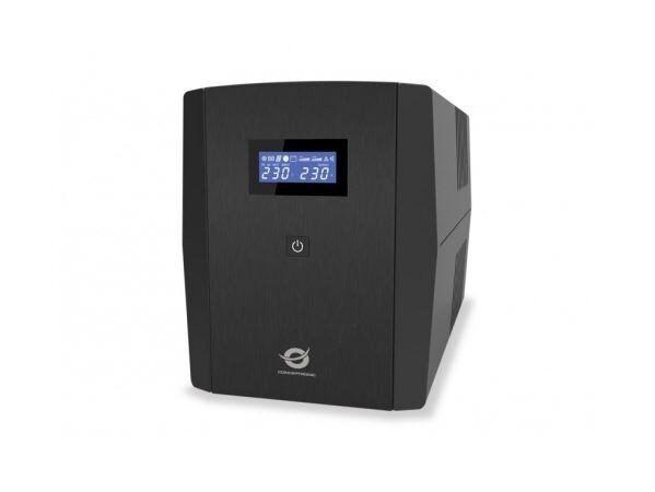 Conceptronic ups 1200va/720w 2x12v/7ah, 3x prese iec e 2x shuko Componenti Informatica