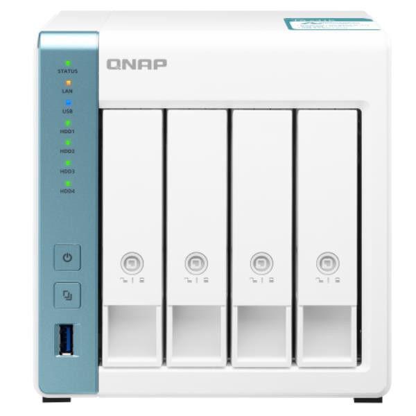Qnap ts-431k 4bay 1.7ghz qc 1gb 2x gbe 3x usb 3.0  in TS-431K Piccoli elettrodomestici casa Elettrodomestici