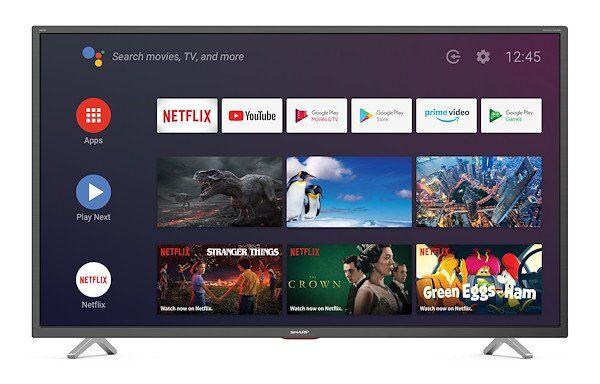 Sharp lc-40bl5ea 40 4k ultra hd android tv Stampanti - plotter - multifunzioni Informatica