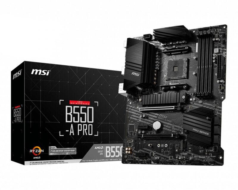 MSI b550-a pro Componenti Informatica