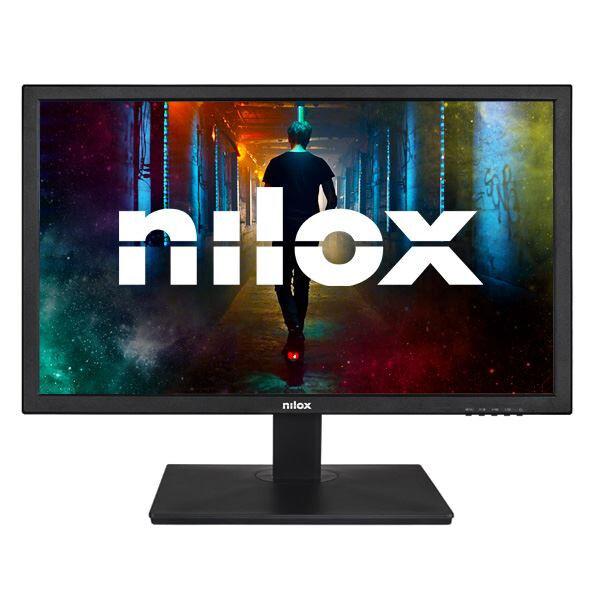 Nilox monitor led 23.6 fhd hdmi vga dvi vesa 100 nxmmled236el Cottura Elettrodomestici