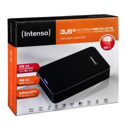 Intenso hard disk esterno  6031512 3.5 4 tb usb 3.0 nero Congelatori Elettrodomestici